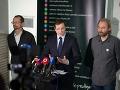 Žlava: Branislav Kočan, Minister Juraj Draxler a Vladimír Crmoman