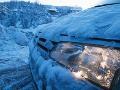 SHMÚ varuje pred vetrom na horách a snehovými jazykmi: Pozor si treba dať aj na silný mráz