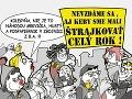 KARIKATÚRA Štrajkujú aj budúci