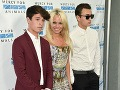 Pamela Anderson a muži jej života - synovia Dylan a Brandon.