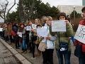 Tichý protest učiteľov