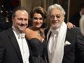 Počas slávnostného večera vystúpili aj ruská sopranistka Olga Peretyatko, a španielsky tenorista Placido Domingo.