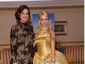 Brooke Shields a Cathy Lugner boli najobletovanejšími dámami večera.