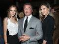 Sistine Stallone, Sylvester Stallone a Sophia Stallone