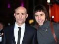 Mark Strong a Sacha Baron Cohen zostali svojím filmovým úlohám verní aj na premiére.