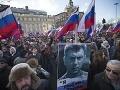 Vražda veľkého kritika Putinovho režimu: Nemcovovu smrť si pripomenuli desaťtisíce ľudí
