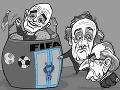 KARIKATÚRA Svetový futbal má