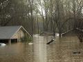 FOTO Juh Spojených štátov trápia záplavy: Dážď bude pokračovať, môže to byť ešte horšie