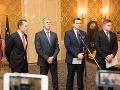 ONLINE Slovensko o krok bližšie k novej vláde: Lídri podpísali program, TOTO sľubujú!