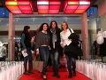 Na otvorení nechýbali ani moderátorky RTVS Iveta Malachovská, Karin Majtánová a Andrea Chabroňová.