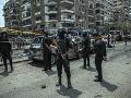 Úspešná policajná akcia južne od Káhiry: Zneškodniť sa podarilo šesť militantov