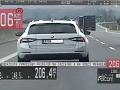 Muž sa po diaľnici rútil vyše 200-kilometrovou rýchlosťou: Dostal poriadne mastnú pokutu