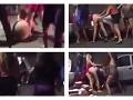 VIDEO surovej bitky pred nočným barom: Gang žien napadol krásnu modelku, bolestné divadlo