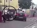 Šokujúce VIDEO desivej zrážky: Vodič nabral cyklistu a nasledovalo toto...