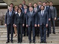 RODINNÉ FOTO Predstavujeme vám novú vládu: Vysmiati smeráci a ciele zamračenej Žitňanskej