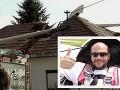 Spoveď muža, ktorý videl, ako sa vetroň rúti na dom: Pilot kričal zo vzduchu po ľuďoch na zemi