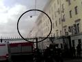 Poplach v centre Moskvy, vypukol obrovský požiar: VIDEO Horí ministerstvo obrany!