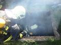 Otrasný nález hasičov v Martine: FOTO Uprostred horiacej šachty narazili na mŕtvolu!