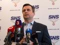 Národniari chcú otestovať svojich kandidátov: SNS zvažuje samostatnú účasť v nadchádzajúcich voľbách