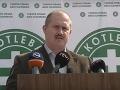 Marián Kotleba v pondelok ohlásil vznik hliadok ĽSNS vo vlakoch.