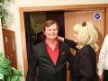 Spevák Dušan Grúň na Jozefovskej párty tiež nechýbal.