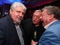 Zablahoželať svojmu priateľovi Jozefovi Oklamčákovi prišiel aj režisér Oliver Andrásy.
