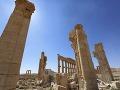 Ožije historické mesto Palmýra