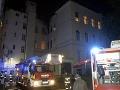 V bratislavskej nemocnici v noci horelo! FOTO Evakuovať museli desiatky ľudí