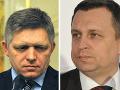 Robert Fico a Andrej Danko