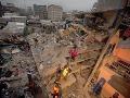 FOTO Obrovský kolaps v Keni: V hlavnom meste sa zrútila šesťpodlažná budova!