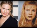 Renée Zellweger dnes a kedysi.