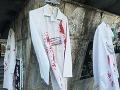 Ľudí v uliciach Bratislavy vyľakala krv na viacerých miestach: FOTO Záhada odhalená