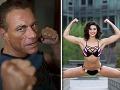 Hviezdny Van Damme má z dcéry sexicu: Krásna tvár, pevné telo a... Pozrite, čo dokáže!
