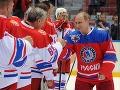 Putin opäť na ľade: VIDEO Vo hviezdnom tíme strelil v hokejovom zápase takýto gól