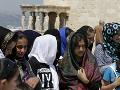 Migranti v Grécku