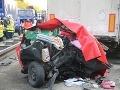 FOTO Príšerná smrť na diaľnici ako z najhoršieho sna: Rodina vrátane troch detičiek nemala šancu