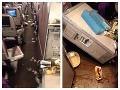 Pri hrozivých turbulenciách sa zranili desiatky pasažierov: FOTO po horore, paluba ako smetisko