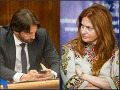 Robert Kaliňák a Monika Flašíková-Beňová