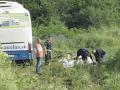 Tragická havária slovenského autobusu