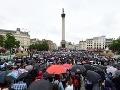 V Londýne dnes demonštrovali tisíce ľudí: Brexit sa im vôbec nepáči