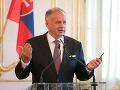 Kiska vníma Deň Ústavy ako deň slušnosti a zodpovednosti: Stojí na nej celé Slovensko