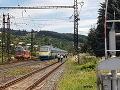 FOTO Tragédia na železnici: Pendolino pri L. Mikuláši zrazilo človeka, nemal žiadnu šancu