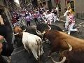 Beh s býkmi  v Španielsku sa zmenil na beh o život: Zranili sa štyria ľudia
