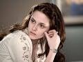 Kristen Stewart ako prirodzene pekná Bella v Twilight ságe.