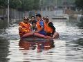 Vražedné záplavy v Číne:
