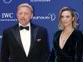 Boris Becker s manželkou Lily.