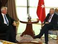 Thorbjörn Jagland a turecký premiér Binali Yildirim