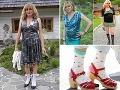 Martinka z Turca mala veľmi osobitý štýl obliekania. Milovala flitre, trblietky a... Zjavne aj ponožky v sandáloch.