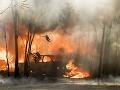 V okrese Galanta museli dnes zasahovať hasiči: Horela garáž, škoda je poriadne vysoká