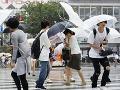 Meteorológovia v Japonsku varujú: Tajfún Krosa sa blíži neuveriteľnou rýchlosťou